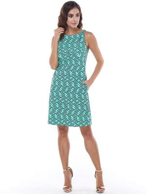 Платье в принт | 5047275