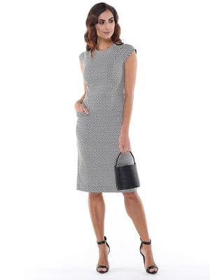 Платье черно-белое | 5047276