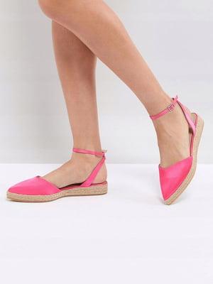 Босоніжки рожеві | 5048347
