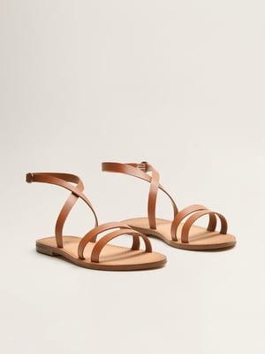 Сандалії коричневі | 4981691