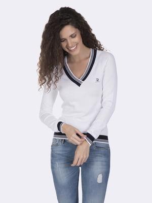 Пуловер білий   4901595