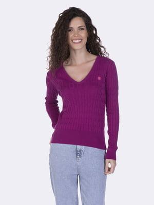 Пуловер фіолетовий   5049745