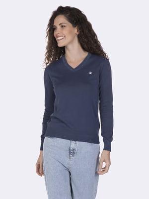 Пуловер синій   5049772