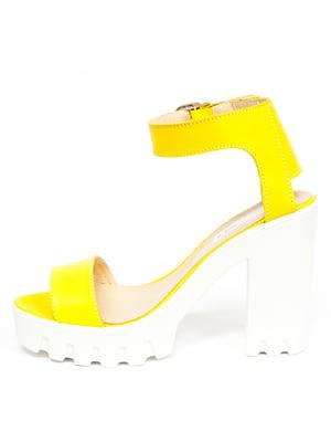 Босоніжки жовті | 5044073