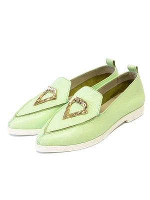 Туфлі м'ятного кольору   5044114