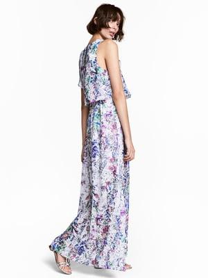 Платье в цветочный принт | 5045300