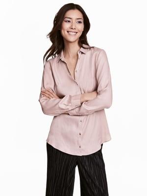 Рубашка розовая | 5045438