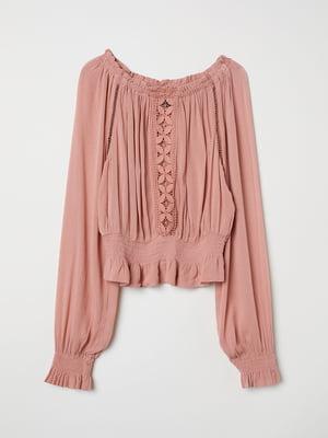 Блуза рожева | 5045785