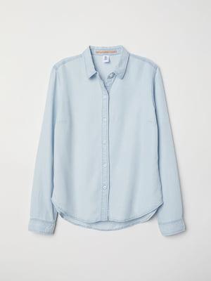 Рубашка голубая | 5046086