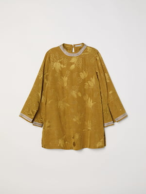 Блуза золотистая   5046204
