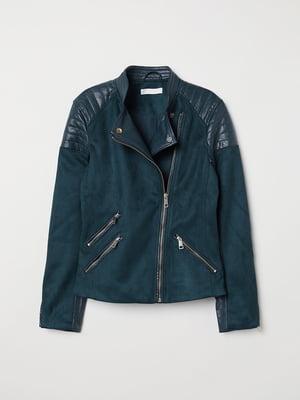 Куртка зелена | 5046573