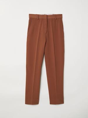 Брюки коричневые | 5046996