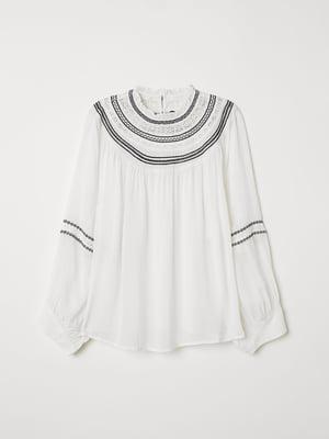 Блуза біла | 5047028