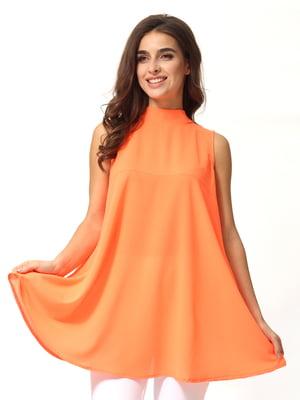 Блуза оранжевая   5054479
