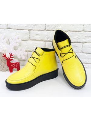 Ботинки желтые | 5043923