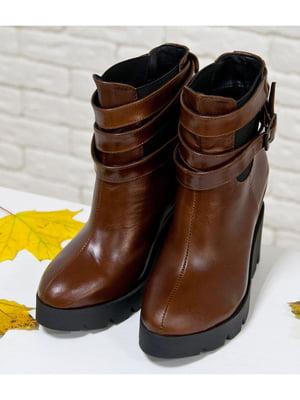 Ботинки коньячного цвета | 5043966