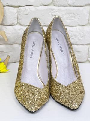 Туфлі золотисті   5044106