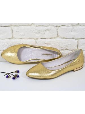 Туфлі золотисті   5044147