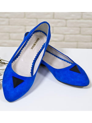 Туфли цвета электрик | 5044149