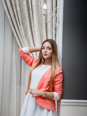 Жакет персикового кольору | 5037244