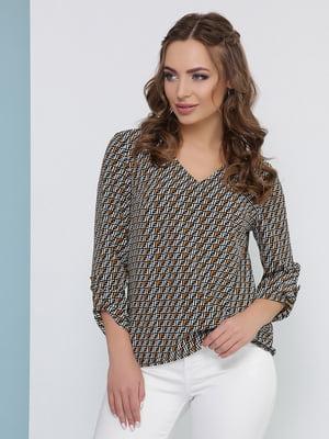 Блуза в принт | 5054448