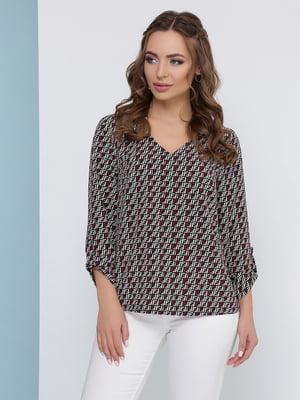 Блуза в принт | 5054449