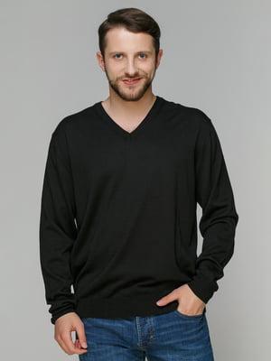 Пуловер чорний | 4359966