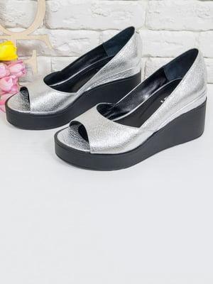 Туфлі сріблясті   5044055