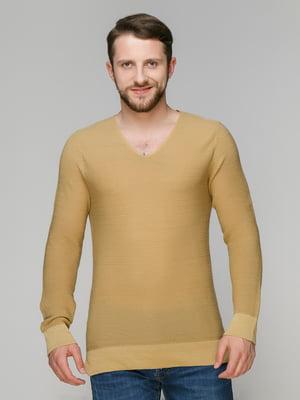 Пуловер песочного цвета | 4506559