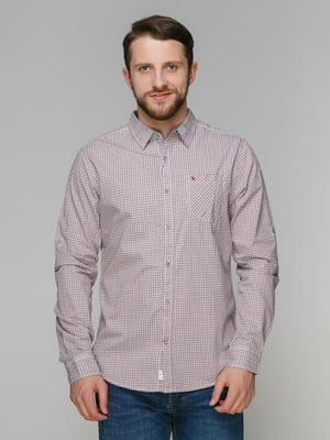 Рубашка клетчатая   4051021