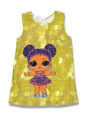 Платье золотистое | 5054605