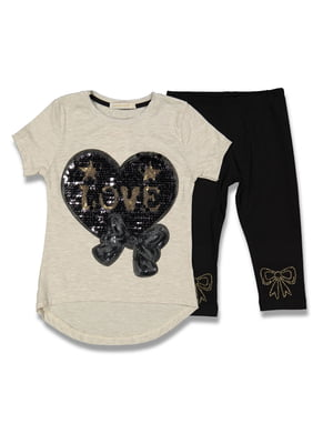 Комплект: футболка и леггинсы | 5054629