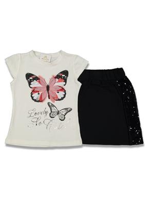 Комплект: футболка и юбка | 5054631