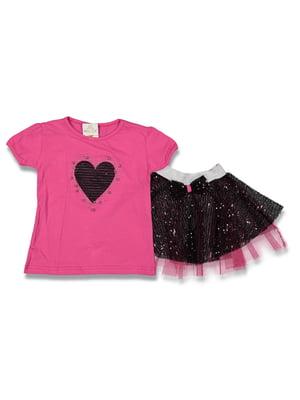Комплект: футболка и юбка | 5054632