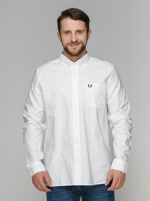 Рубашка белая - Fred Perry - 4362766