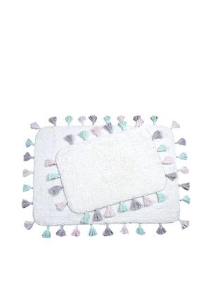 Килимки для ванної кімнати (60х90 см); (40х60 см)   4975114