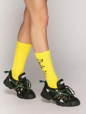 Яркие носки с надписями | 5029254