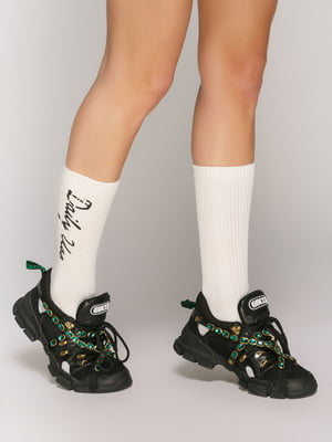 Яркие носки с надписями | 5029252
