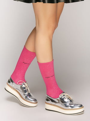 Яркие носки с люрексом | 5029265