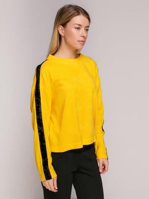 Лонгслів жовтий | 3766737