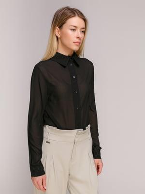 Рубашка черная | 2710180
