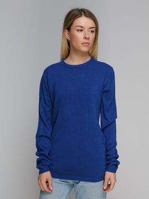 Пуловер синий | 4855276