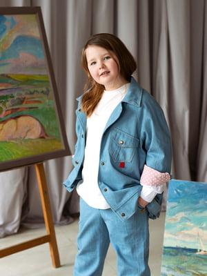 Куртка джинсовая голубая | 5056715
