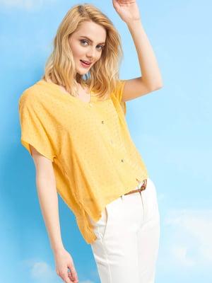 Блуза желтая | 5056429