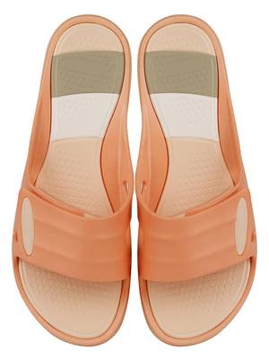 Шльопанці персикового кольору | 5056491