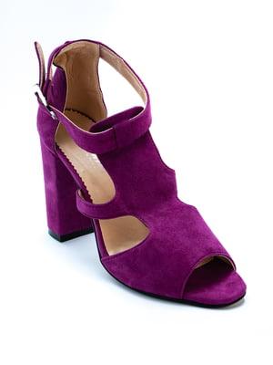 Босоножки фиолетовые | 5056935