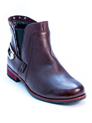 Ботинки бордовые | 5056946