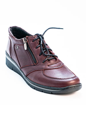 Туфлі бордові | 5056953