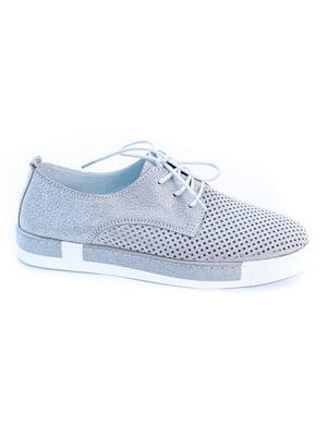 Туфлі сріблястого кольору | 5056957