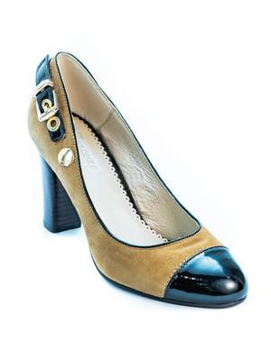 Туфлі двоколірні | 5056961
